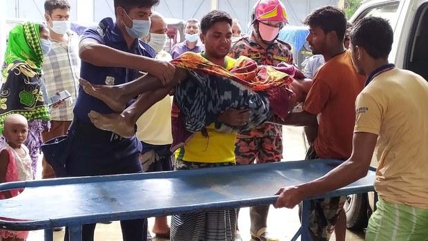 চাঁপাইনবাবগঞ্জে বজ্রপাতে ২০ বরযাত্রী নিহত