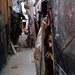 ভারতের নয়াদিল্লিতে একটি রোহিঙ্গা শিবির। ১৭ সেপ্টেম্বর ২০১৭।