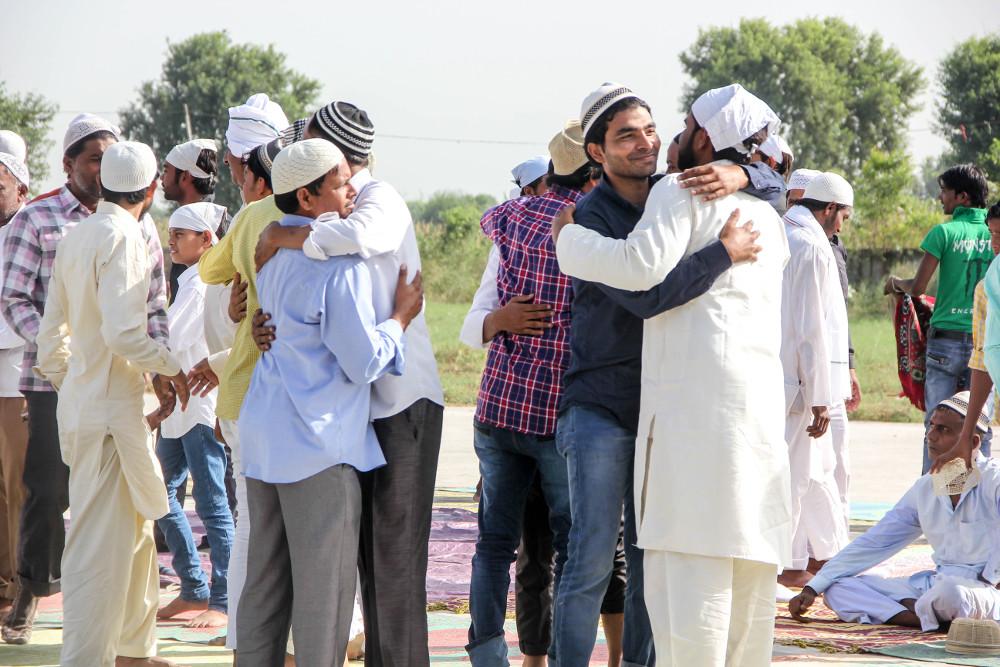 Muslims Mark Eid In Riot Hit Indian Village