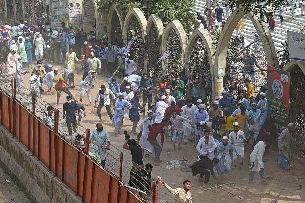Violent Protests Against Indian PM's Visit Mar Bangladeshi Jubilee