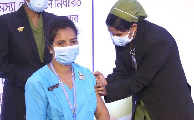 Bangladesh Launches COVID-19 Vaccinations; Philippines, Thailand Announce Rollouts in February