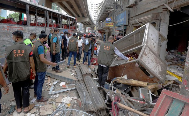 Police: Gas Leak Likely Caused Deadly Blast in Dhaka