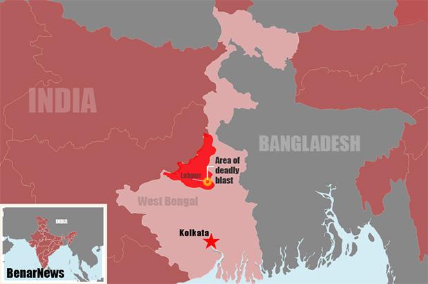 India: West Bengal Bomb Blast Kills 8