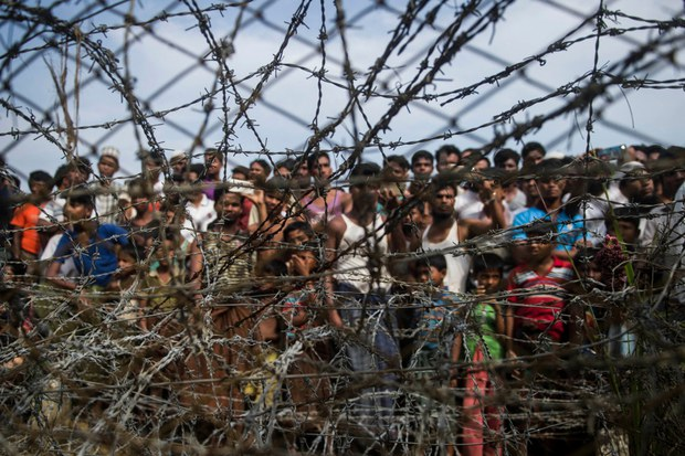 For Rohingya Refugees, Myanmar Military's Crackdown on Protesters is All Too Familiar