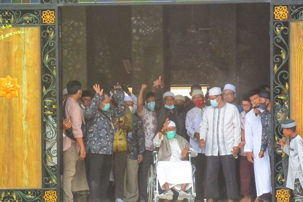 Indonesia Frees Radical Cleric Accused of Links to '02 Bali Bombings