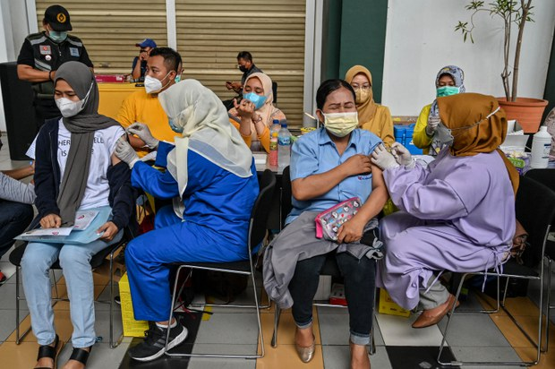 More Than 80 Percent of Indonesia's Vaccine Supply Comes From China