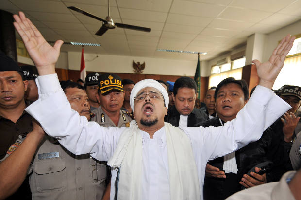 Indonesia hate speech allegations shadow fpi leader reheart Gallery