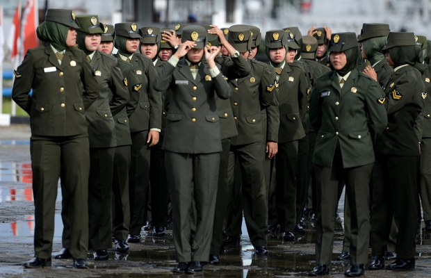 It's Official: Indonesian Army Stops 'Virginity' Tests for Women
