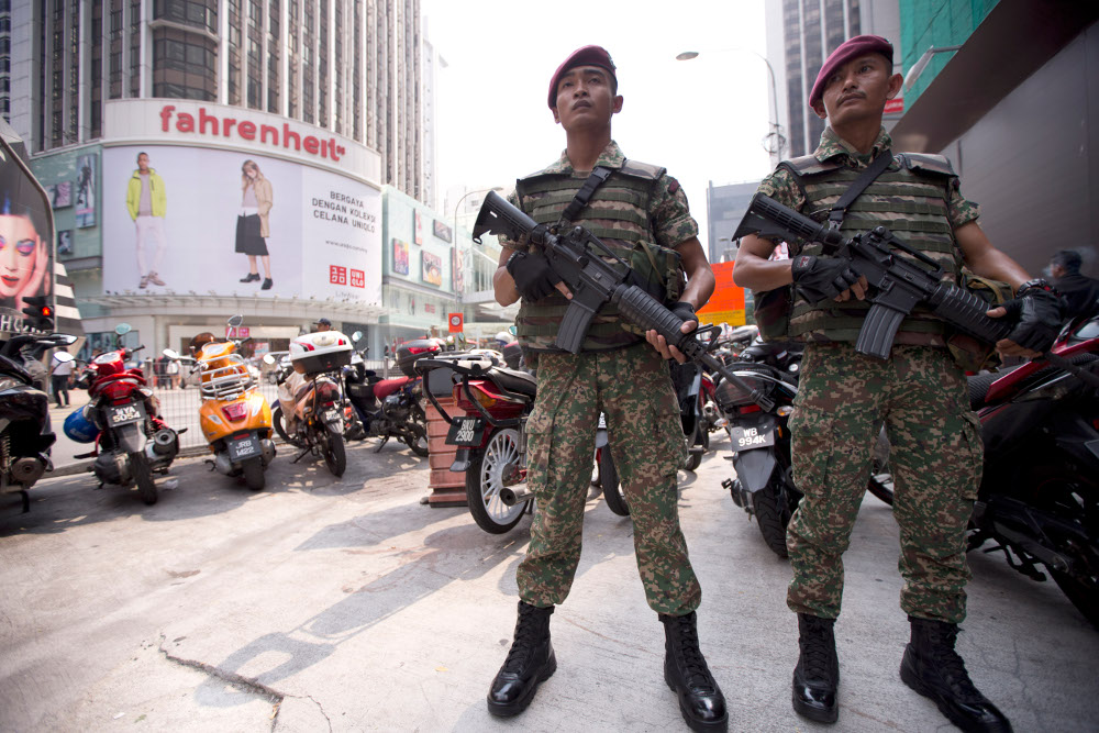 Malaysia Announces Arrests of 3 Remaining IS Cell Suspects