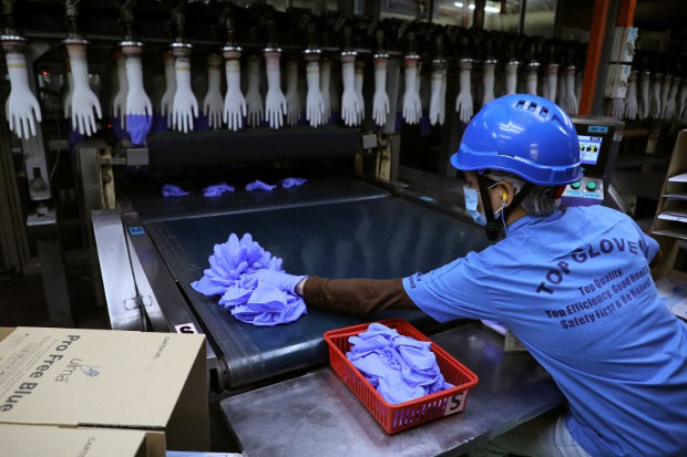 US Orders Malaysian Medical Glove-Maker's Products Seized for 'Forced Labor'