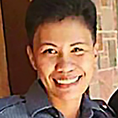 Dina Gumahad [Courtesy Philippine National Police]