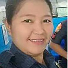 Benierose Alvarez [Courtesy Philippine National Police]