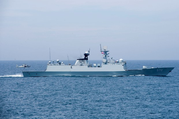China Begins Month of Military Exercises in South China Sea