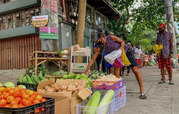 Community Pantries Emerge in Philippines amid COVID-19 Surge