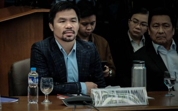 Philippine Senator Pacquiao Sues Duterte's Spiritual Adviser for Cyber Libel