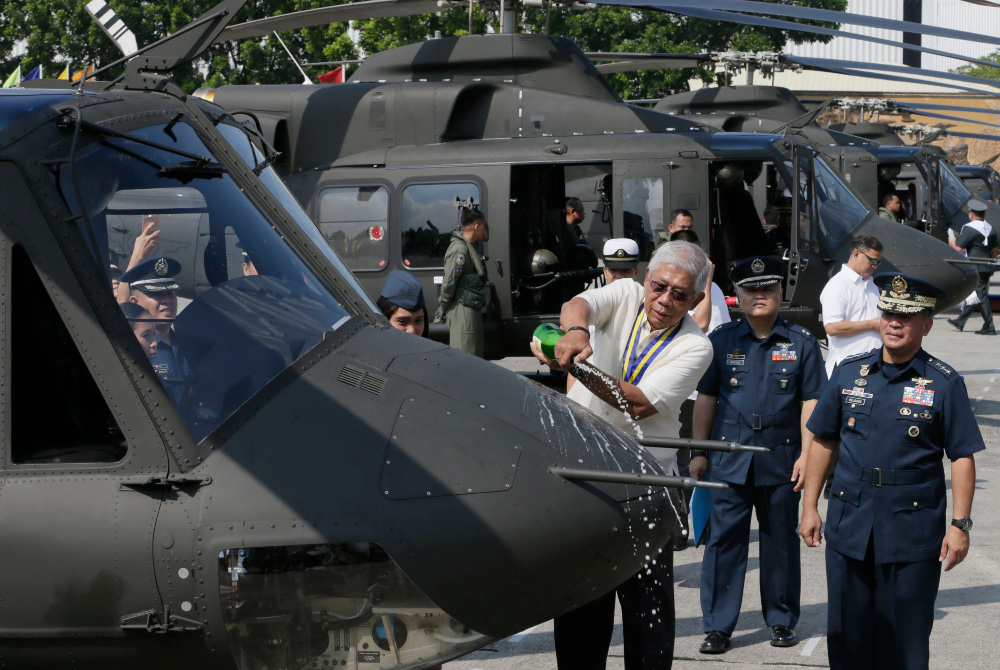 Philippines officially terminates helicopter deal with Canada