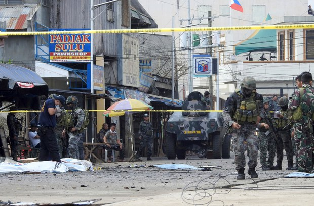 Philippine Military Rescue Teen Daughter of Indonesian Suicide Bombers