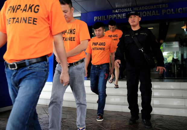 Philippine Police Arrest 5 Chinese over Alleged Kidnap Attempt