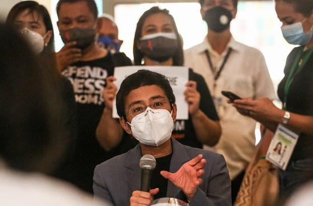 Philippine Journalist Maria Ressa, a Staunch Duterte Critic, Wins Nobel Peace Prize