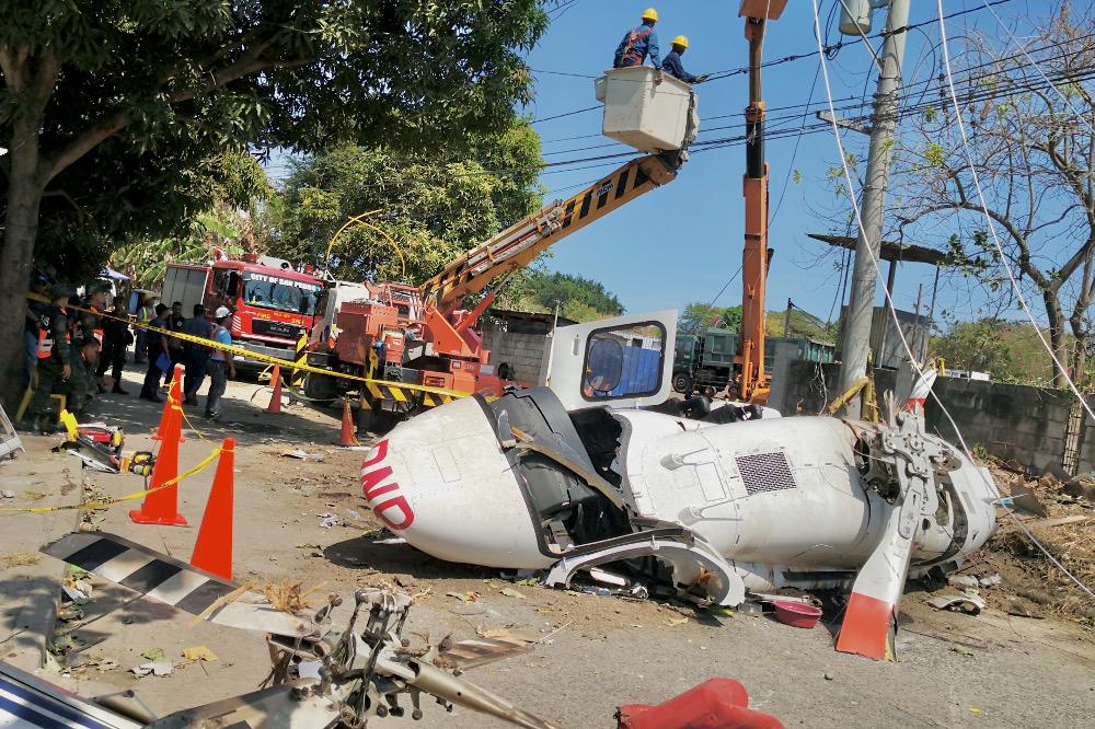 Philippine Police Chief Survives Helicopter Crash Benarnews