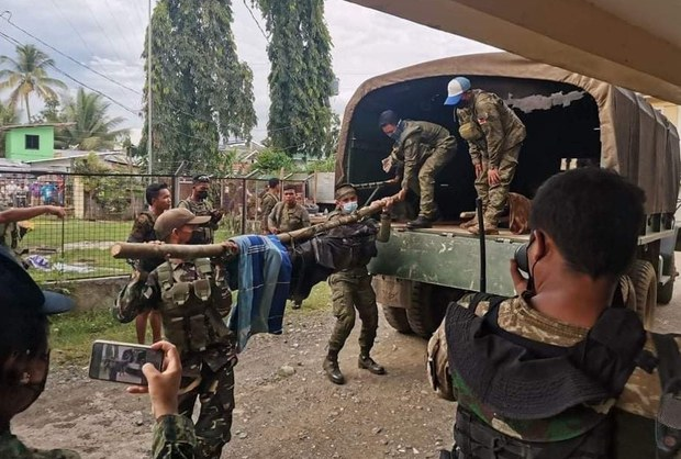 Four Alleged Communist Rebels Killed in in Southern Philippine Clash