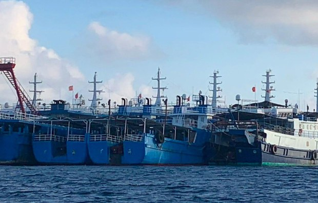 Philippines Amplifies Demand for Chinese 'Maritime Militia' Ships to Leave EEZ Waters