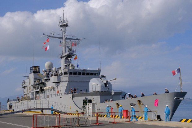 French Warship Docks in Vietnam as Foreign Powers Step Up in South China Sea