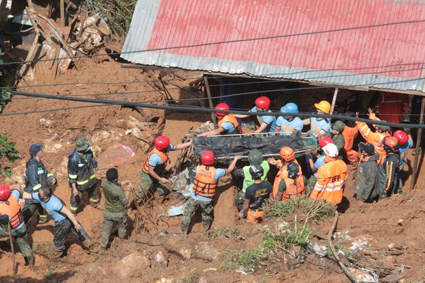 Philippine Teams Rush to Reach Communities Devastated in Storm's Path