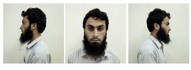 Pakistani suspect Waqar Ahmad [Handout/Philippine Bureau of Immigration]
