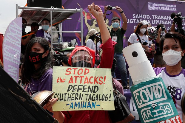 Philippine Activists Block Main Govt Website to Protest Alleged Rights Violations
