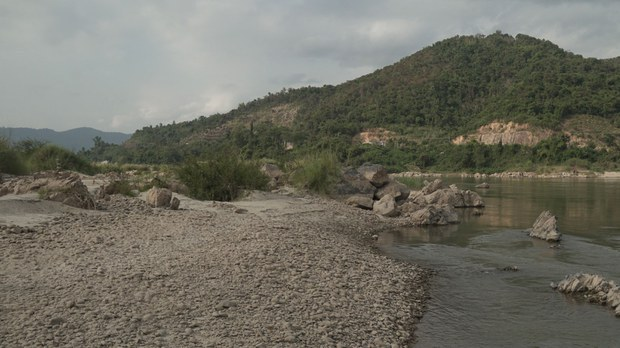 Mekong River Levels Drop, Fail to Rise Again Along Thai-Lao Border