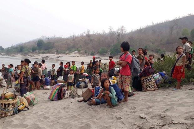 NGOs: Thailand Has Sent Back 2,000 Refugees Who Fled Myanmar Air Strikes
