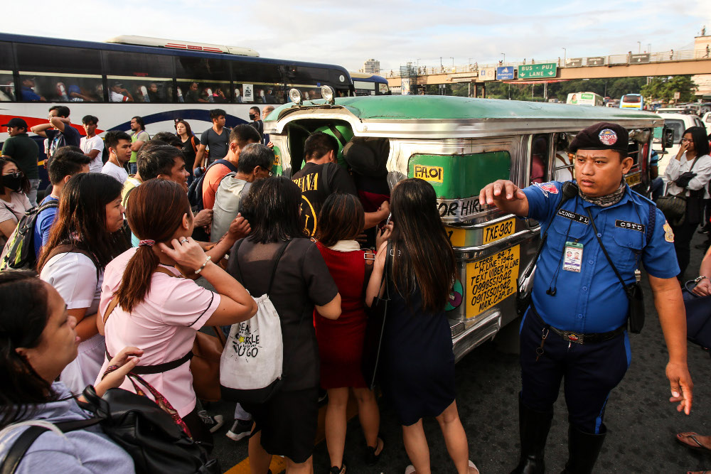 Philippine Jeepney Drivers Strike Cause Headache For Commuters