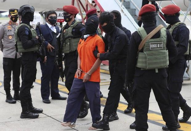 23 Terduga Teroris JI Dipindahkan ke Jakarta dari Lampung