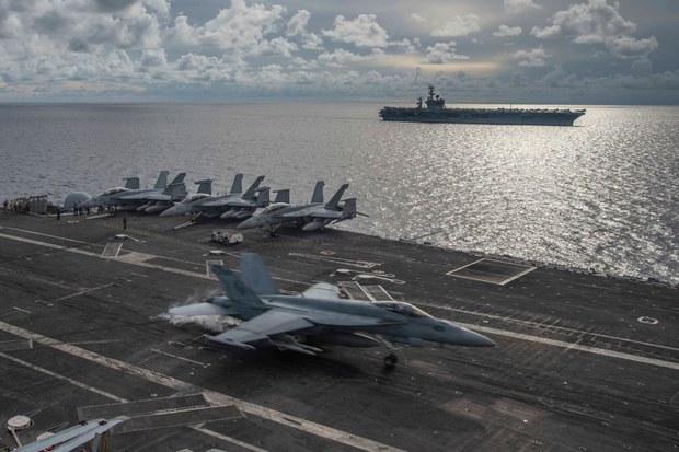 AS Sebut Tindakan Cina di Laut Cina Selatan 'Melanggar Hukum'
