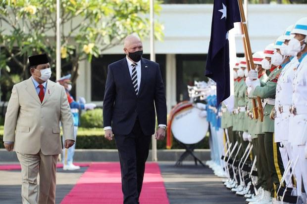 Indonesia dan Australia Perkuat Kerjasama Pertahanan Keamanan
