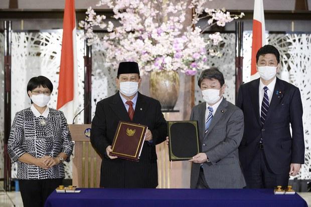 Indonesia-Jepang Tanda Tangani Kerja Sama Alutsista dan Transfer Teknologi
