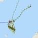 Lokasi kapal survei China Haiyang Dizhi 10 pada tengah hari, 5 Oktober 2021, berdasarkan pemetaan lalu lintas maritim di wilayah itu.