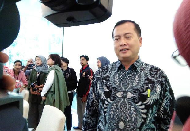 Direktur Perlindungan WNI di Kementerian Luar Negeri, Lalu Muhammad Ikbal, ketika diwawancara wartawan di Jakarta, 11 Juli 2018. (Tria Dianti/BeritaBenar)
