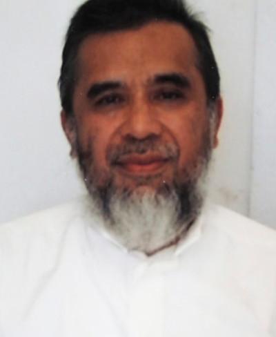 Dalam foto yang dirilis tanpa tanggal ini memperlihatkan Hambali di Penjara Guantanamo (Federal Public Defender's Office/AP)