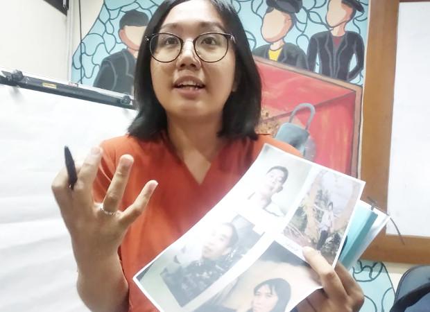 Pengacara publik LBH Jakarta, Oky Wiratama Siagian, berbicara kepada wartawan saat jumpa pers di Jakarta, 23 Juni 2019. (Rina Chadijah/BeritaBenar)