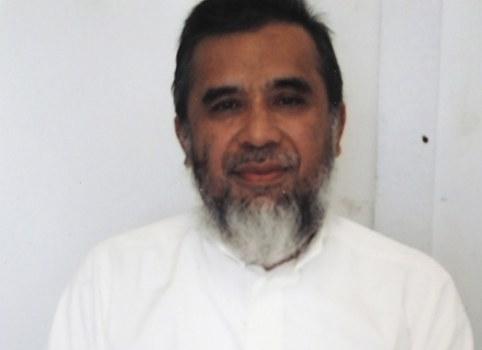 Encep Nurjaman, alias Hambali, di pangkalan militer Amerika Serikat di Teluk Guantanamo, Kuba. (Kantor Kantor Pembela Umum Federal AS via AP)