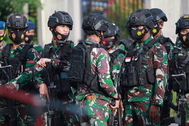 12 Tersangka Teroris di Papua Diduga Berencana Serang Uskup, Kantor Polisi