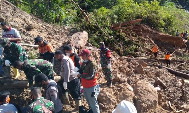 Tiga Orang Tewas Tertimbun Longsor Dekat Lokasi Konstruksi PLTA Batang Toru