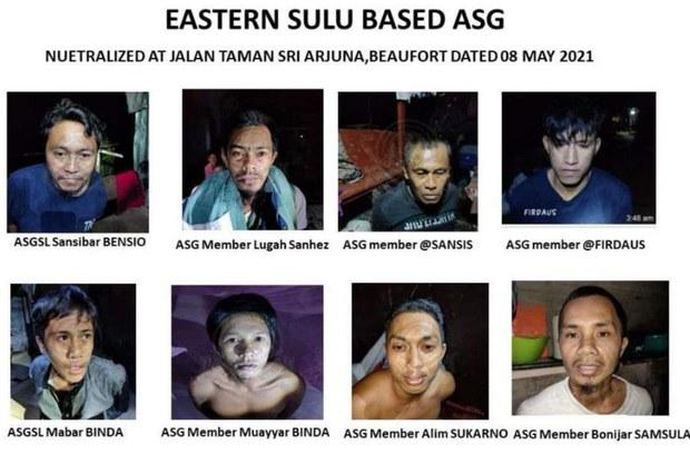 Maklumat Filipina Bantu Malaysia Berkas 8 Ahli Kumpulan Abu Sayyaf