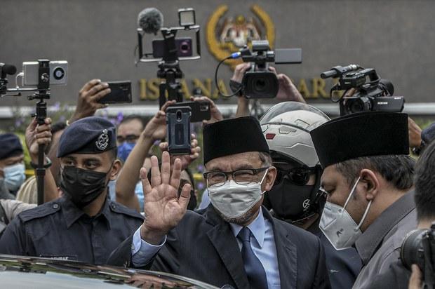 Krisis COVID-19: Pemimpin Parti Politik Malaysia Mengadap Yang di-Pertuan Agong