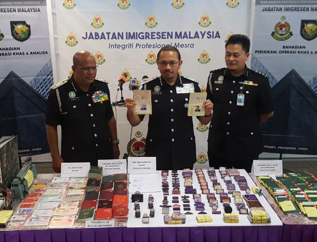 Malaysia Tahan Dalang Sindiket Pasport Visa Palsu Warga Bangladesh