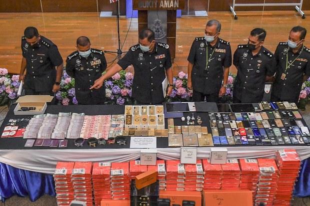 Malaysia Tumpas Sindiket Penipuan Ada Kaitan Ketua Kongsi Gelap Disenarai Hitam AS