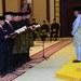 Majlis angkat sumpah menteri kabinet di hadapan Yang di-Pertuan Agong Sultan Abdullah Sultan Ahmad Shah di Istana Melawati di Putrajaya, 10 Mac 2020.