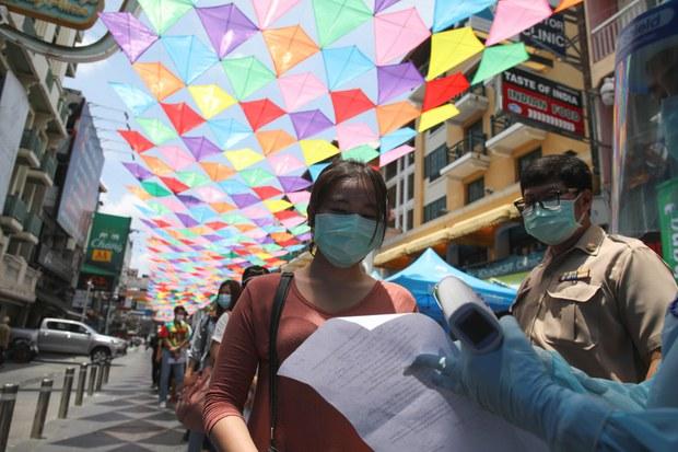 ไทยติดเชื้อโควิด-19 เพิ่ม 1,335 ราย ทำลายสถิติสูงสุดป่วยต่อวัน